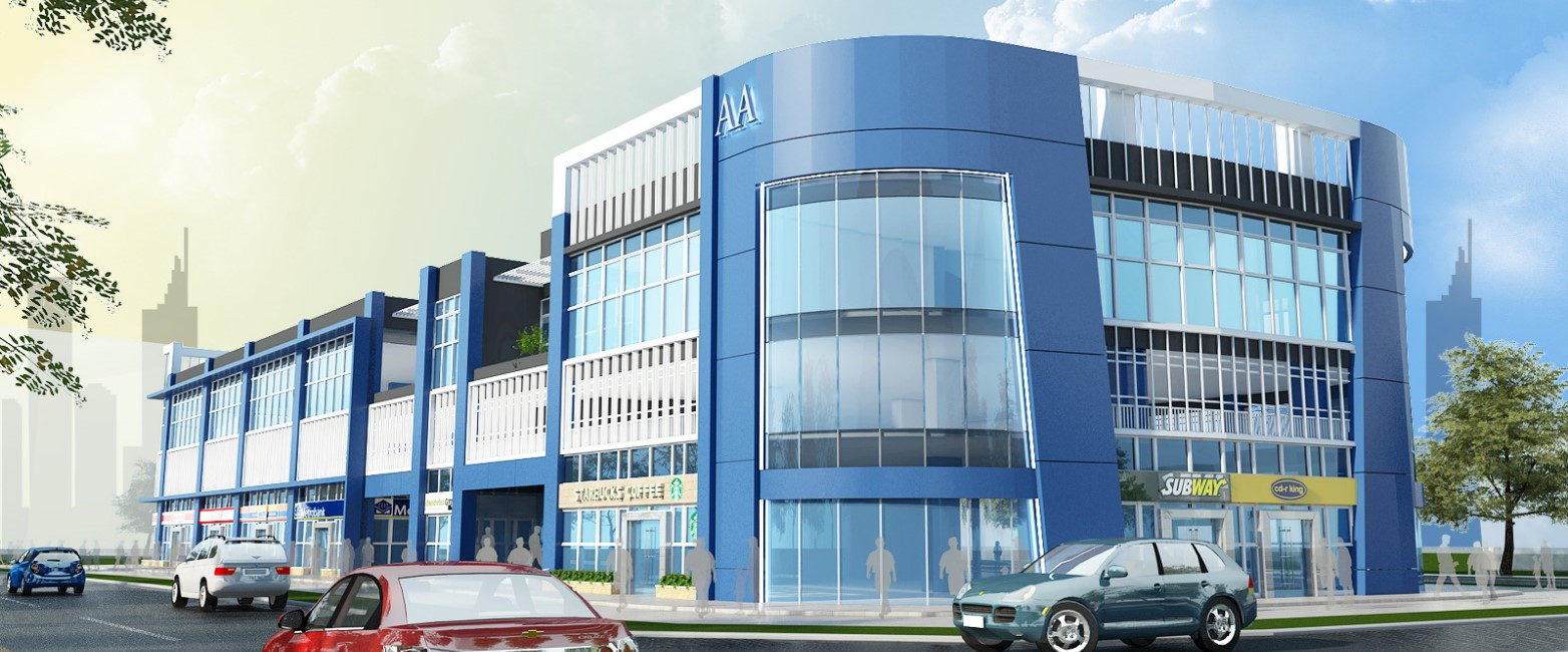 Proposed ahnex hq ahnex group for 3 storey commercial building design
